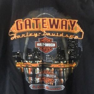 St.Louis Harley T-Shirt XL with Tasmanian Devil